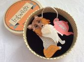 Collie Dog Brooch by Erstwilder - Precocious Pixie